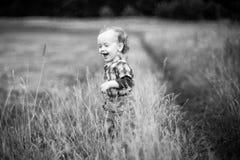 Expression heureuse d'enfant photo stock