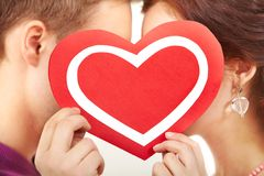 Expression of love Royalty Free Stock Photography