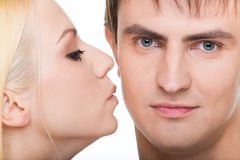 Expression of love Stock Image