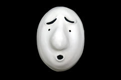 Expression Mask 1 Royalty Free Stock Photography