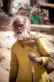 Expression of old indian man Royalty Free Stock Photos