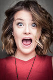 Expression portrait royalty free stock photography