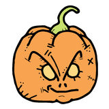 Expression pumpkin Royalty Free Stock Photo