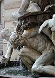 Expression sur la statue de marbre à Vienne images libres de droits