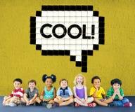 Expression Words Emotion Communication Slang Concept Royalty Free Stock Image