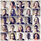 Expressions Royalty Free Stock Photo