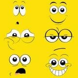 Expressions Photo libre de droits
