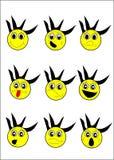 Expressions image libre de droits