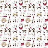 Expressions de visage Photos libres de droits