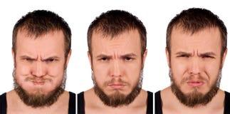 Expressions faciales photos libres de droits