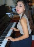 Expressions femelles asiatiques de beauté photos libres de droits