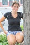 Expressions femelles de beauté Photos libres de droits