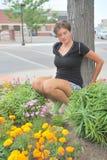 Expressions femelles de beauté Photographie stock