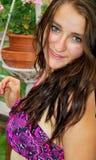 Expressions femelles de beauté image stock