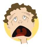 Expressions Icon: Sick Stock Photo
