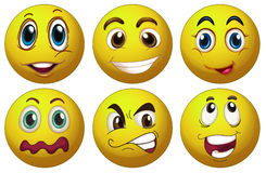 Expressions Royalty Free Stock Images