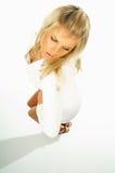 Expressions modèles blondes sexy 1 images libres de droits