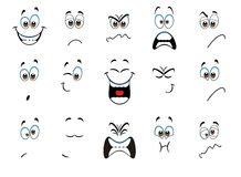 expressions Stock Image