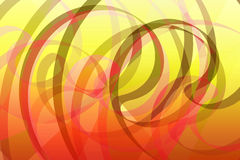 Expressive. Computer-generated image with vivid and striking colors colours Royalty Free Illustration