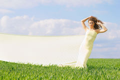 Expressive beautiful girl Royalty Free Stock Images