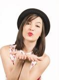 Expressive beautiful woman Stock Image