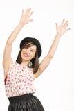 Expressive beautiful woman Stock Photos