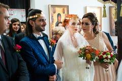 Expressive bride