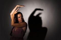 Expressive dancer Royalty Free Stock Photography