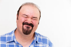 Expressive Face On A Man Royalty Free Stock Images