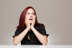 Expressive face. Stock Image