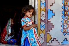 Expressive Girl Stock Image