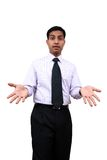 An expressive Indian male. Stock Photos