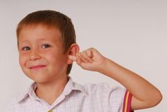 Expressive kid 12 Stock Photography