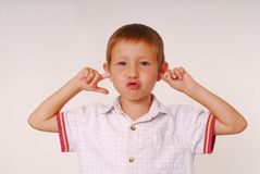 Expressive kid 20 Stock Images
