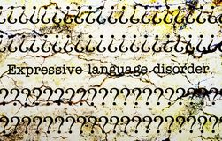 Expressive language disorder Stock Images