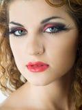 Expressive makeup Stock Images