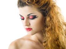 Expressive makeup Stock Photo