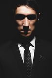 Expressive man portrait Royalty Free Stock Photo