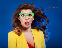 Expressive portrait Royalty Free Stock Photography