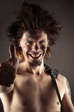 Expressive portrait of a man Royalty Free Stock Image