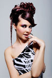 Expressive seductive beautiful girl Royalty Free Stock Photos