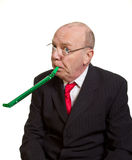 Expressive senior businessman Stock Photo