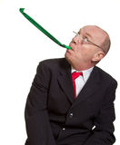 Expressive senior businessman Stock Images