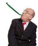 Expressive senior businessman Stock Images