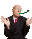 Expressive senior businessman Royalty Free Stock Image