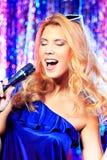 Expressive singer Royalty Free Stock Photos