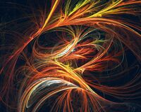 Free Expressive Strokes, Lines And Swirls In Dynamic Motion Creating Waves And Perspective. Royalty Free Stock Photography - 212782507
