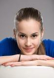 Expressive teen portrait. Stock Image