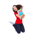 Expressive teenage girl Stock Images