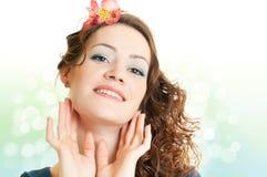 Expressive woman Royalty Free Stock Photo